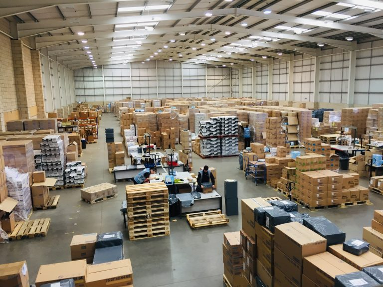 Healthcare Logistics Warehouse